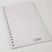 Legal Size Blank Sheets for 7021 Binder - Z1783